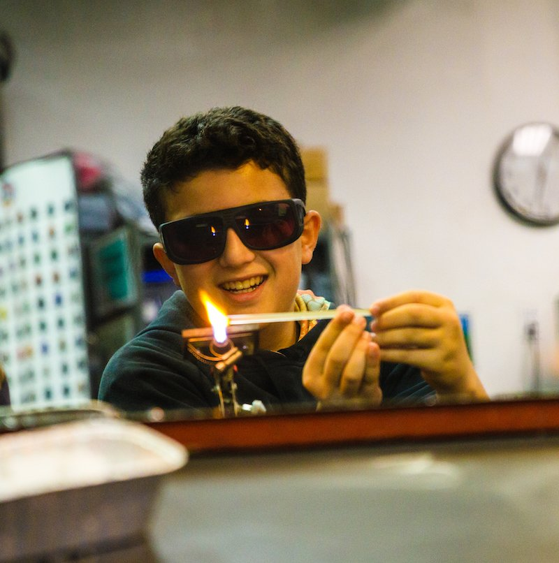 Youth Glass Flameworking