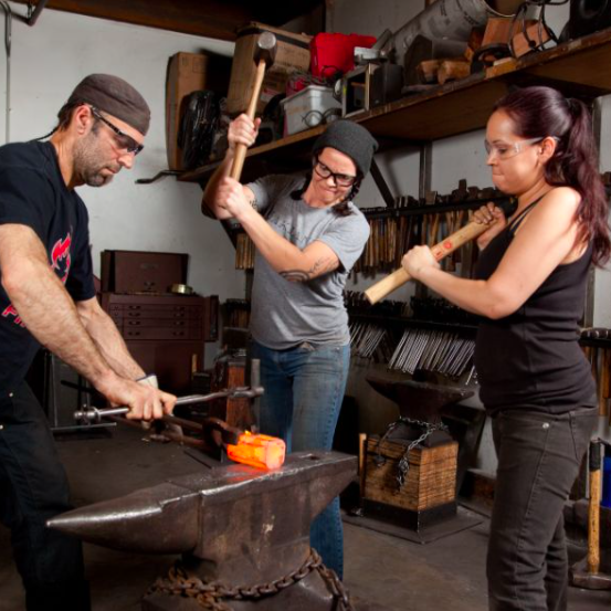 Forge Your Own Blacksmithing Tools